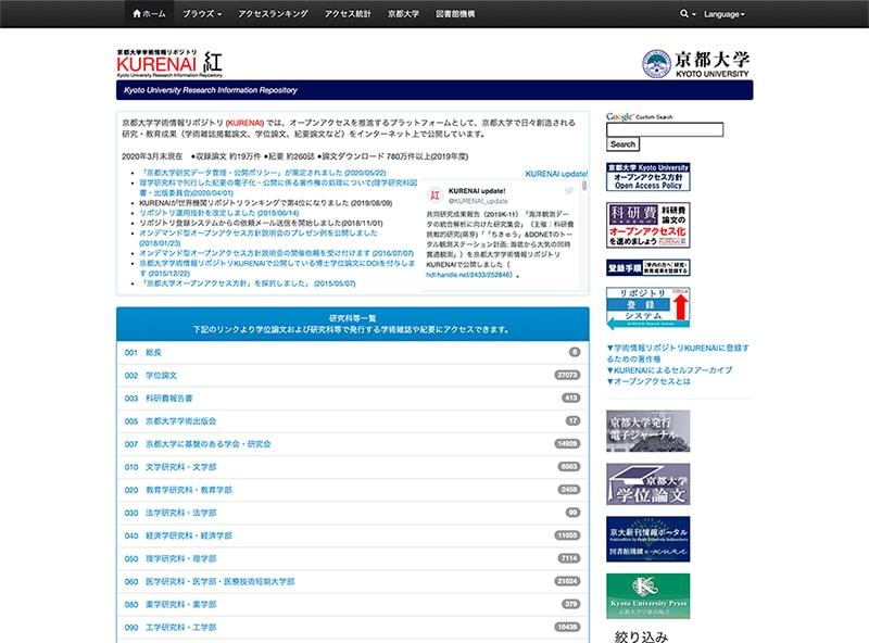 京都大学学術情報リポジトリ KURENAI
