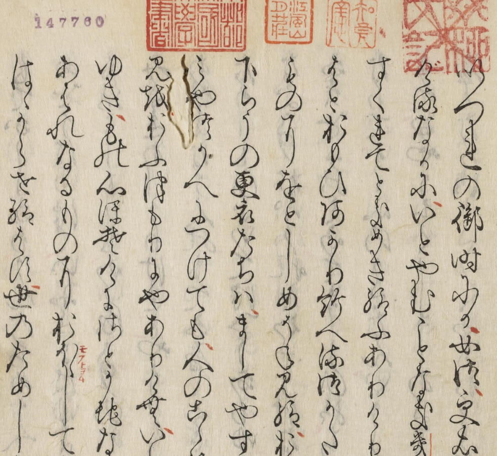 Genji monogatari (Saga-bon)