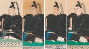 菊亭家歴代当主肖像画
